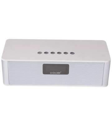 Ug-301white-bluetooth-speaker-1