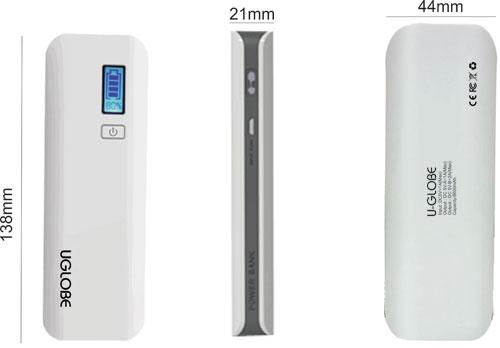 6600mAh-Model UE-6600